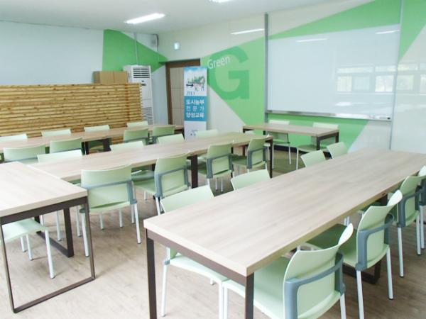 ▲ 도시농부학교 전용 교육장