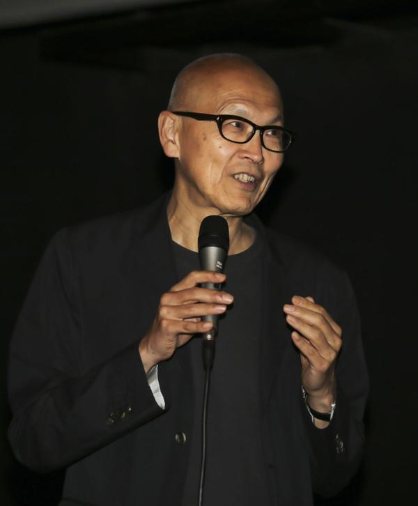 ▲ 웨인 왕 감독 - 관객과의 대화