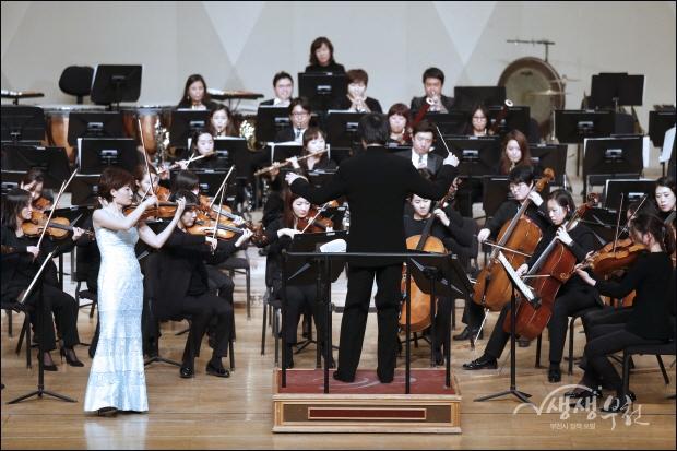 ▲ 멘델스존의 '바이올린 협주곡 마단조 작품 64'를 바이올린 양승희 협연