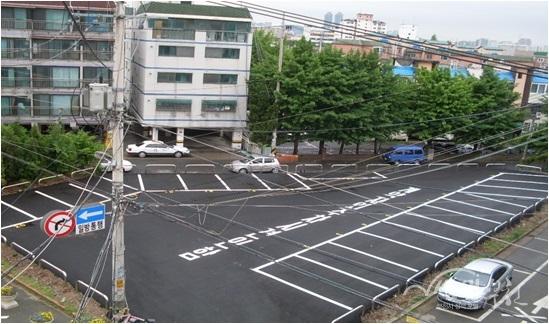 ▲ 원도심 주차장 조성사례_오정구 오정동 561(조성후)