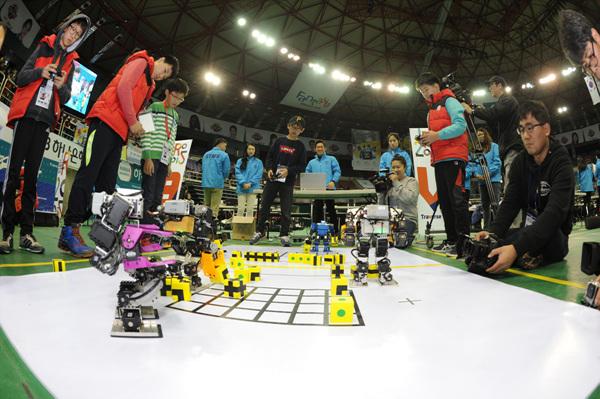 ▲ 2015 국제로봇올림피아드 세계대회