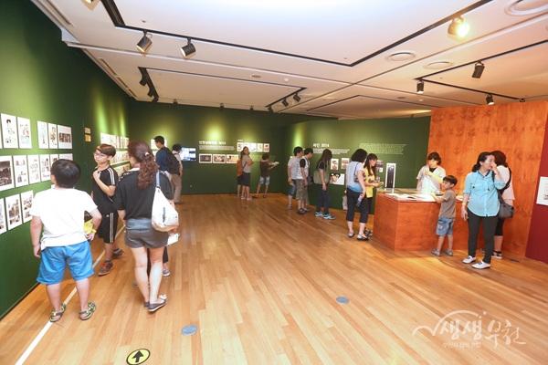 ▲ 한국만화박물관 전시실
