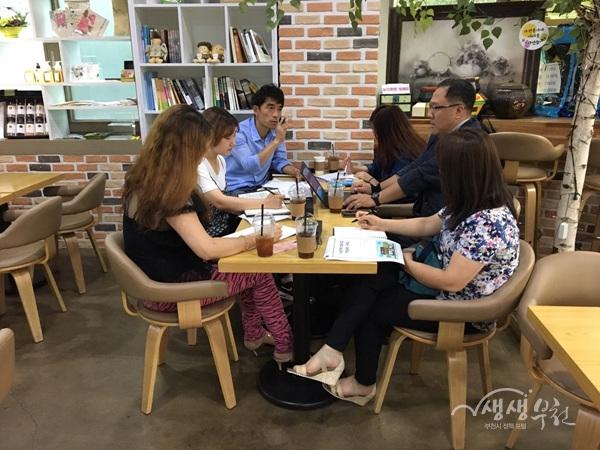 ▲ 부천시는 사회적기업 에코스토리와 함께 카페형 공방을 추진하고 있다.