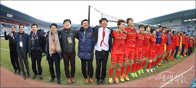 ▲ K리그 챌린지 2017년 개막전 부천FC1995 첫승
