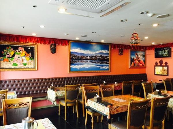 ▲ 마차푸처레 레스토랑 내부 모습