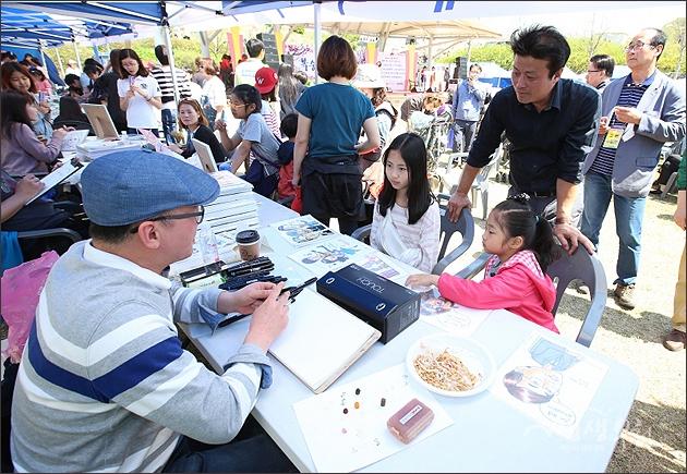 ▲ 제12회 춘덕산 복숭아꽃축제