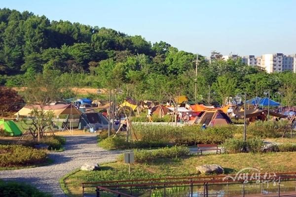 ▲ 여월농업캠핑장