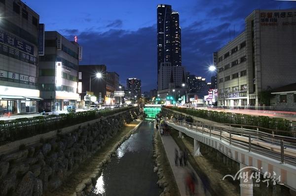 ▲ 심곡 시민의강(밤)