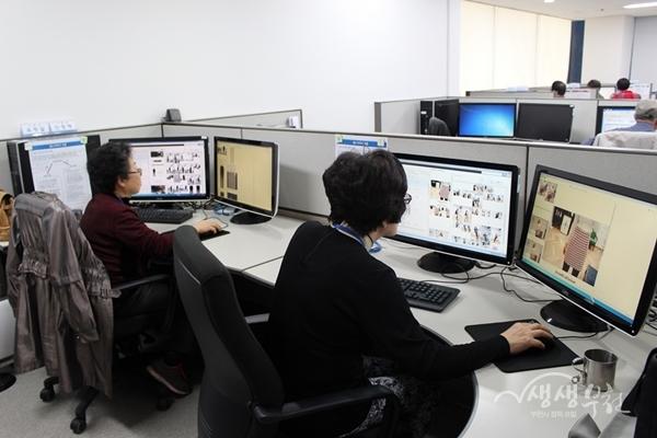 ▲ 시니어 IT사업단