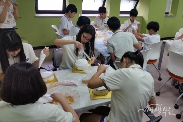 ▲ 청소년 여름특강 진행모습(원미도서관)