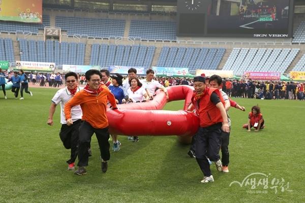 ▲ 지난해 부천시민화합한마당 체육대회
