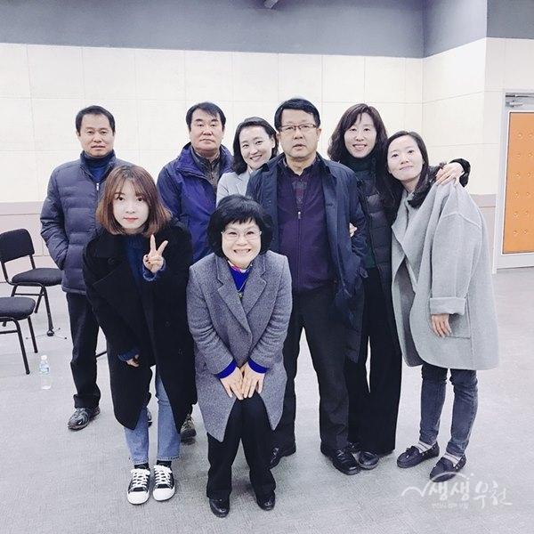 2017년 심곡본동 공직자 문화감성 체험 실시