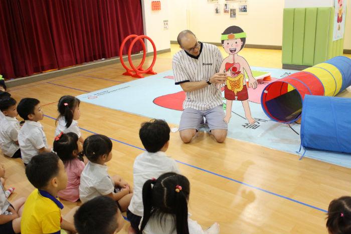 ▲ 제2어린이급식관리지원센터 '초록영어캠프'활동 모습