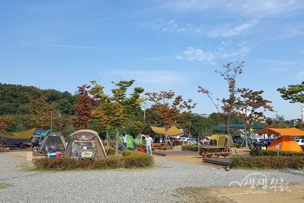 ▲ 부천여월농업공원 캠핑장