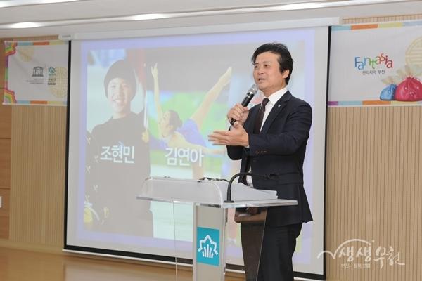 김만수 부천시장, 10개 행정복지센터 시정설명회 나서