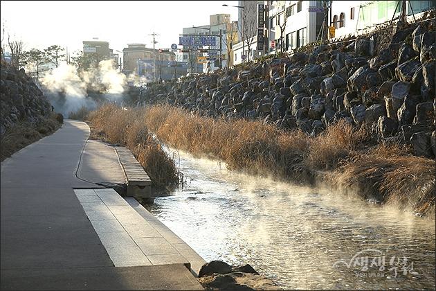 ▲ 심곡시민의강 겨울 풍경