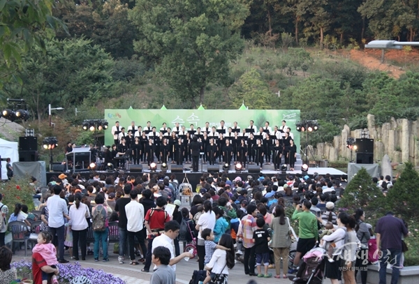 ▲ 부천자연생태공원에서 열린 팝스콘서트
