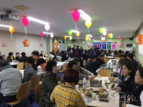 ▲ 역곡3동 '나눔사랑 큰 기쁨' 사랑의 일일찻집 개최