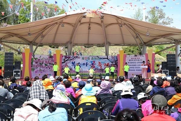 ▲ 지난해 복숭아꽃축제 모습
