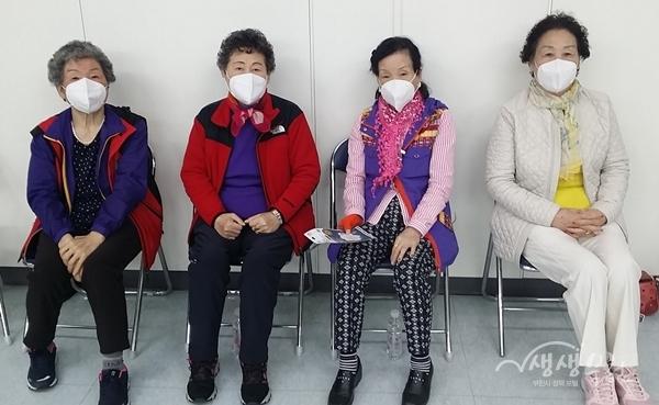 ▲ 마스크를 착용한 시민들