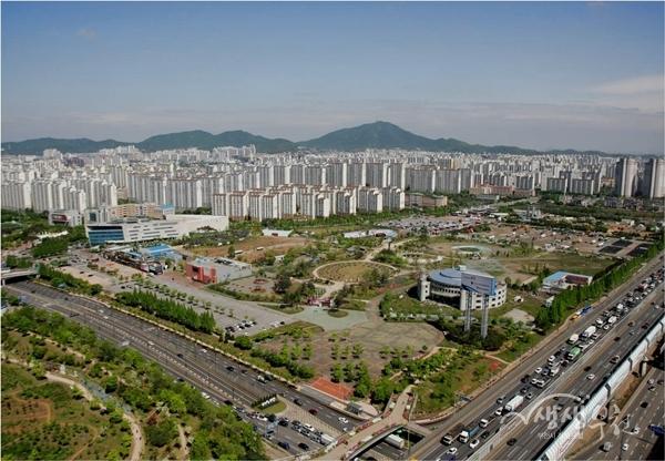 ▲ 부천영상문화산업단지 전경