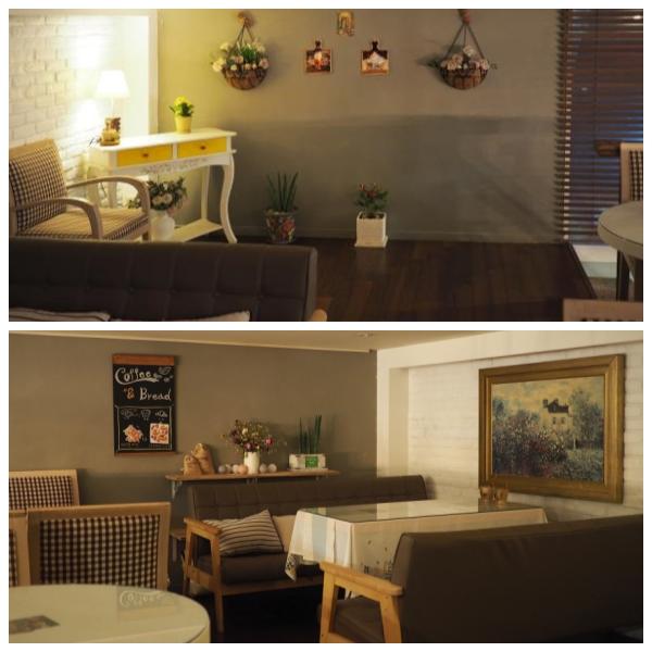▲ 카페 2층에는 모임을 할 수있는 공간이 있다.