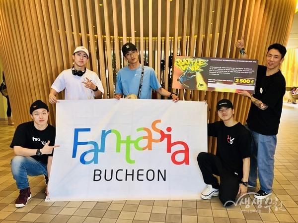 ▲ '2018 Battle VNR 세계비보이챔피언십' 우승을 차지한 진조크루