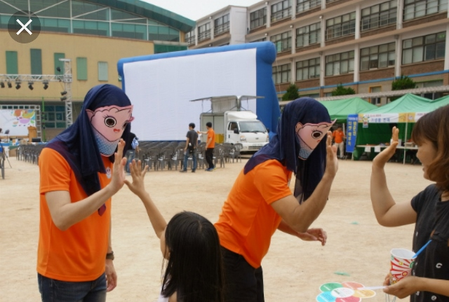 ▲ 지난해'꼽사리영화마을축제'모습