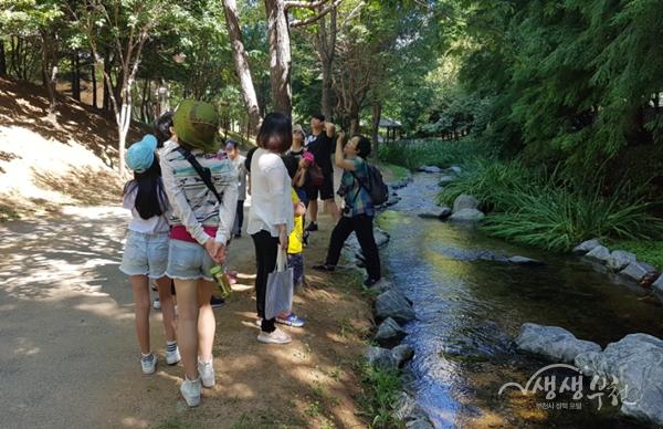 ▲ 물길따라 어린이 역사해설 생태체험