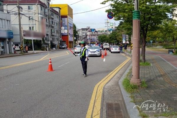 ▲ 부천시는 지난 11일 소사경찰서와 함께 체납자 합동단속을 실시했다.