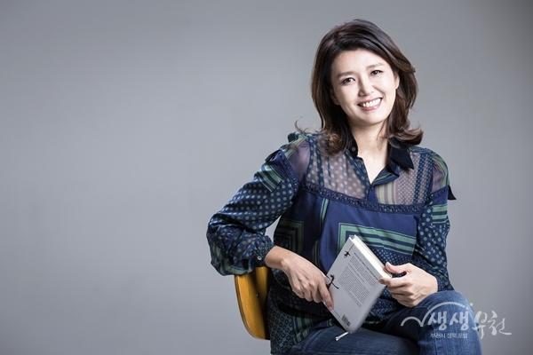 ▲ 국악방송 '진양혜의 책이 좋은 밤' 시회자 진양혜