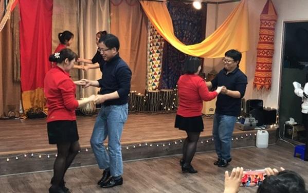 ▲ 라틴 댄스동아리 훌라리팀 활동 모습