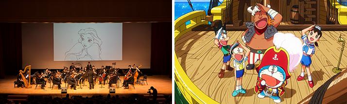 ▲ <월트 디즈니 환타지아 2000 클래식> 공연, <극장판 도라에몽:진구의 보물섬>