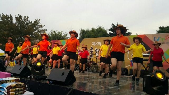 ▲ 제8회 소새울 한마당 축제 공연