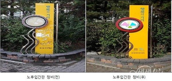 ▲ 중4동 「별산 문화갤러리」 새단장
