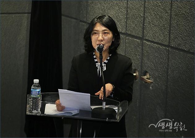 ▲ 부천독립영화관 '판타스틱큐브' 개관식 경과보고