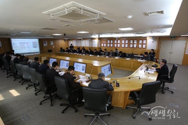 ▲ 미세먼지 프로젝트 특별전담팀 회의