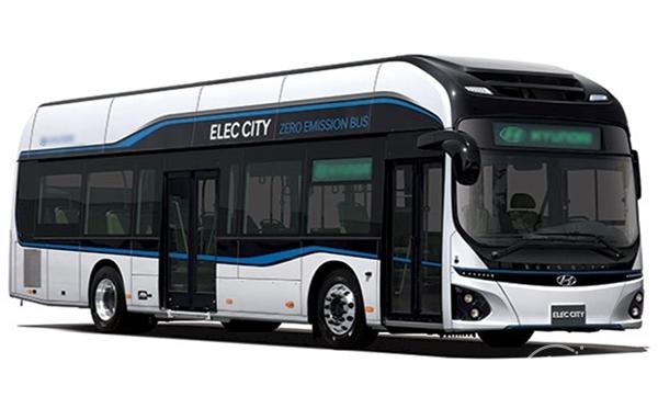▲ 친환경 전기버스