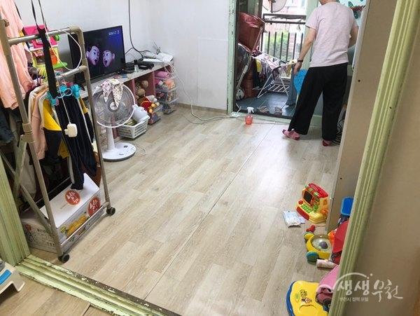 ▲ 중4동 행정복지센터 행복더함스위트하우징사업