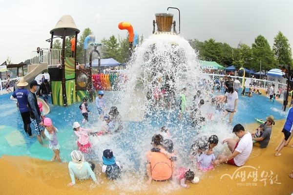 ▲ 남부수자원생태공원 물놀이시설