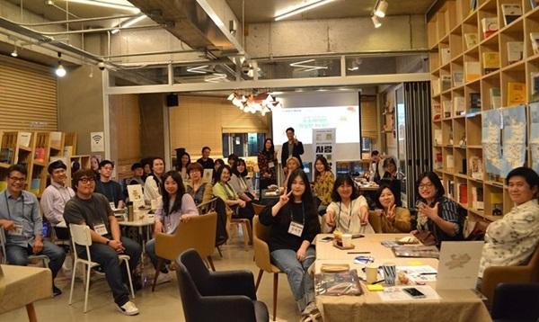 ▲ 지난 5월 첫 모임에 참석한 문화활동가들 모습