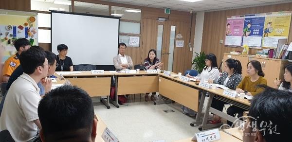▲ 정신응급 위기대응 협력단 간담회 개최 사진