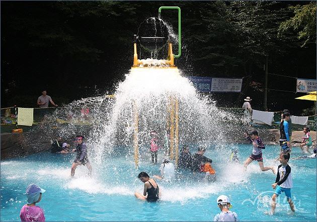 ▲ 소사대공원 물놀이터