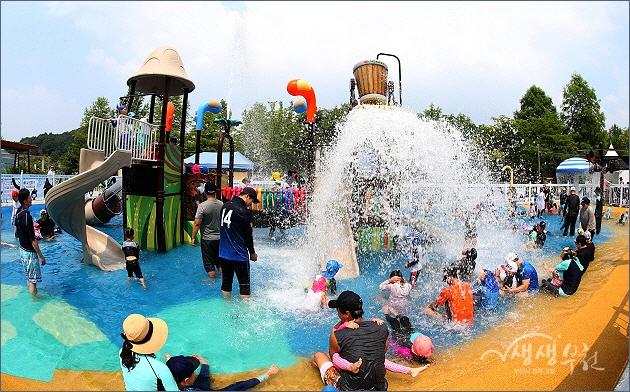 ▲ 남부수자원생태공원 물놀이터