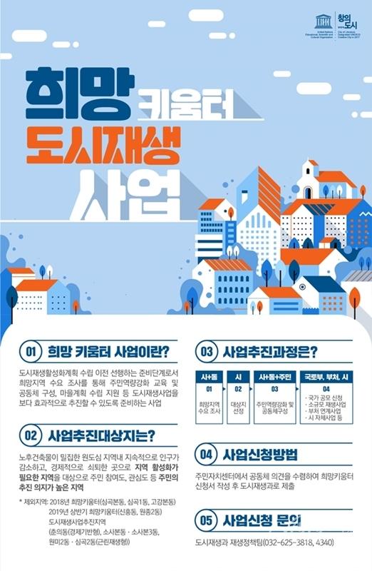 ▲ 희망키움터 사업 포스터