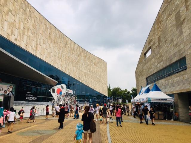 ▲ 축제가 열리고 있는 한국만화영상진흥원