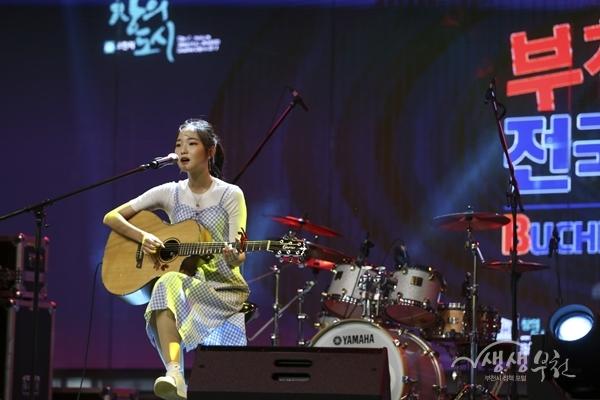 ▲ 제4회 부천전국버스킹대회 공연 무대