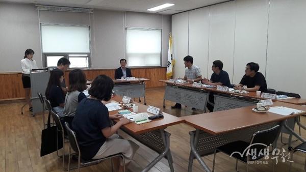 ▲ 신중동 지역사회통합돌봄 지역케어회의 개최