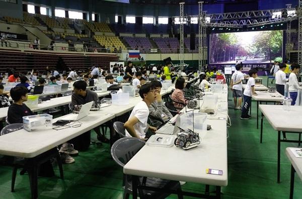 ▲ '제4회 부천판타지아 로봇 페스티벌'행사장 모습