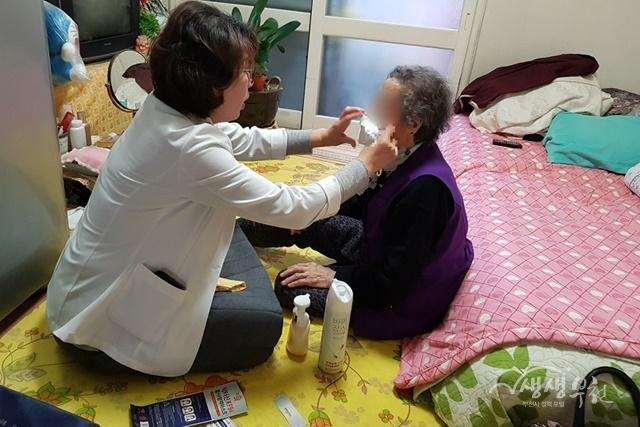 부천시보건소, 겨울철 홀몸어르신 감염병 예방 건강관리